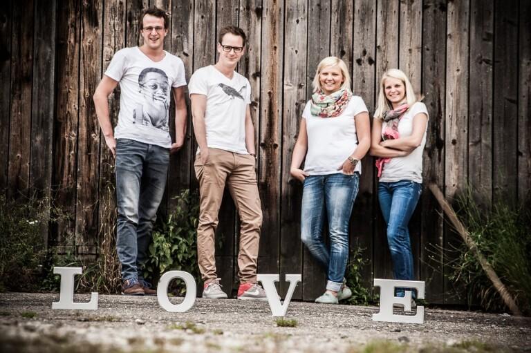 Steffi, Jana, Alex und der Robert 0013